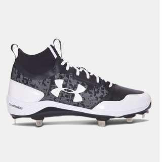 Under Armour Heater Mid Baseball Cleats Shoes