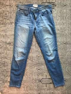 Current + Elliot Medium Rise Skinny Jean