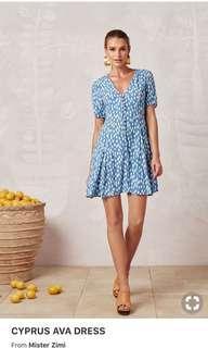 Mister Zimi Cyprus Ava Dress size 6