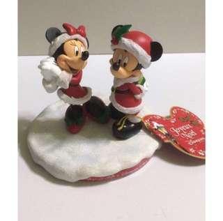 Paris Disneyland 法國迪士尼 園內限定 米奇 米妮 Mickey Minnie Christmas 聖誕節 聖誕樹掛飾