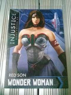 Wonder Woman Red Son Injustice Card
