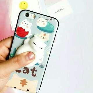 SQUISHY CAT CASE  IPHONE 7/7plus