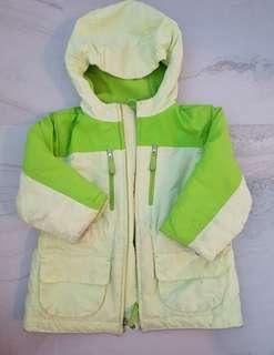 Kids Winter Jacket 3T free fleece jacket and gloves