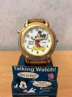 Mickey Talking Watch