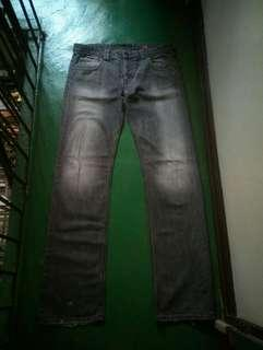 LEE Lo Slim L2 Button Fly Jeans (33)