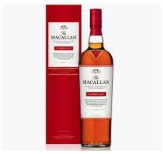 Macallan Classic Cut 2017 and 2018 available