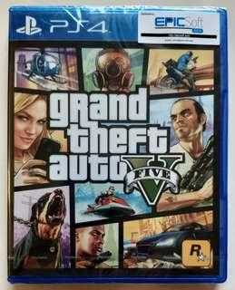 PS4 GTA 5 new and seal