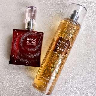 Warm Vanilla Sugar Set, 75ml Perfume and 236ml Body Spray