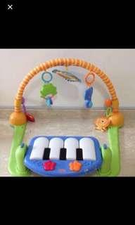 Fisher Price Piano And Kick Gym