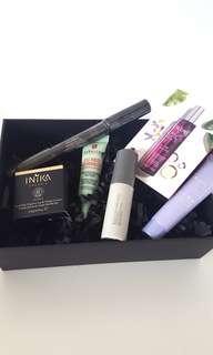 Beauty Box 6 items Becca Caudalie Nudestix Kate Somerville #POST1111