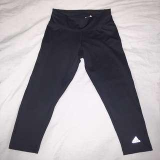 Adidas Climalite Cropped Leggings Black