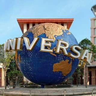 Dated & Open Date Universal Studio Singapore