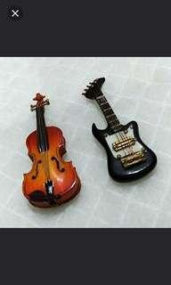 仿真縮小版樂器