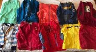 7 3T boys winter jackets