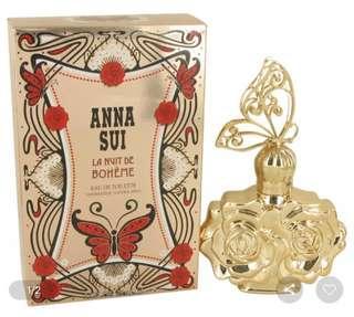 Anna Sui La Nuit De Boheme 50ml Eau De Toilette Women's Perfume