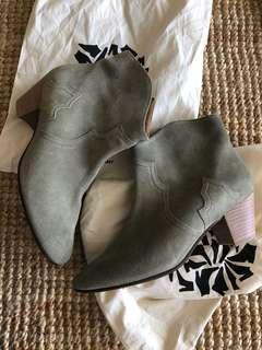Isabel Marant Etoile suede boots, size 41, Aus 9
