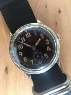 (Christmas Sales!) PHAROS 1940's WWII Military Pilot's Mechanical Winding Vintage Wrist Watch