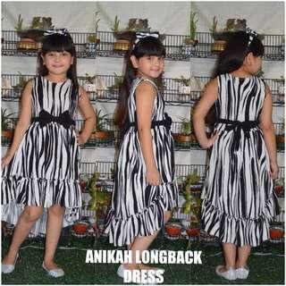 Anikah long back dress