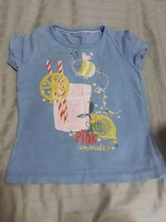 (Free Normal Mail) Used Twice Mothercare Top 12-18mths