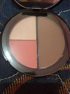 Blush highlight & contour