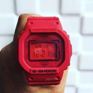 G-shock RED EDITION