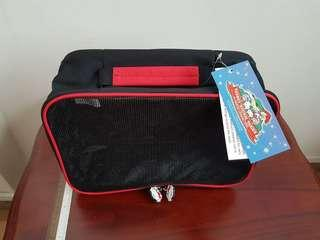 "Brand New Hello Kitty Kid's Travel Bag with Tag 12"" x 8.5"" x 4.5"""
