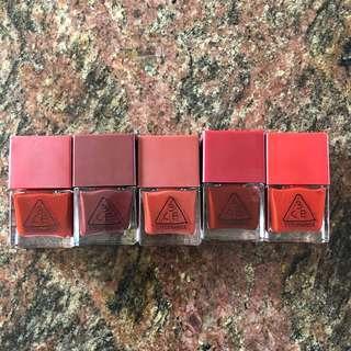 3CE Red Nail Polish