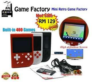 Game Factory Mini Retro 400 Games in One
