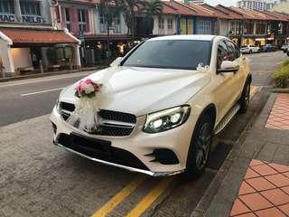 Mercedes Benz GLC Rental w/ Driver (Wedding Car)