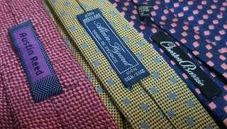 NECKTIES imported and handmade
