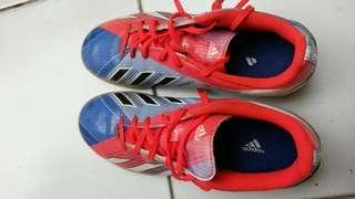 Sepatu futsal anak addidas F5 messi size 38