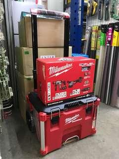 Milwaukee M18 Fuel Rotary Hammer Drill & Angle Grinder