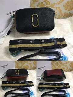 Sale!! Brandnew Authentic Quality Marc Jacobs Snapshot Sling Bag