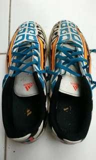 Sepatu futsal anak Addidas original F5 loreng tiger size 38