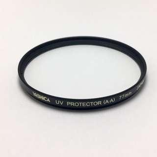 YASHICA 77mm UV Protector (A-A) ,Original Made in Japan