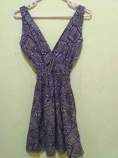 Dress Bali Ungu