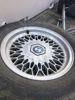 BMW 5 SERIES WINTER RIMS