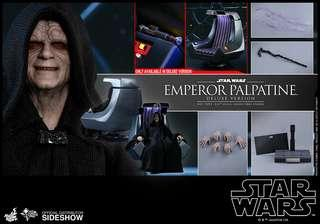 Hot Toys Star Wars Emperor Palpatine (Deluxe Version)