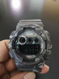 Casio G-Shock Grey Camo