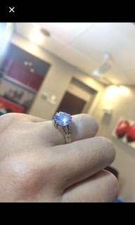 cincin batu diamond ikat suasa full