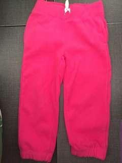 (免費FREE) 二手Carter's fleece pants