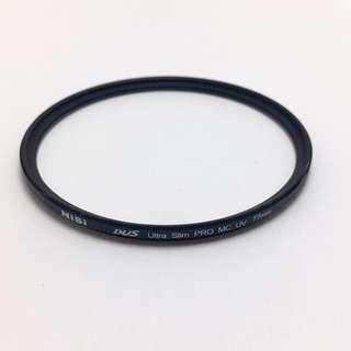 NISI 77mm DUS Ultra Slim PRO MC UV Filter