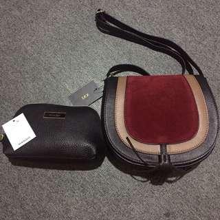 Bundle f21 sling/ mango pouch
