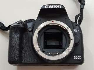 CANON 500D DSLR Camera (Body)