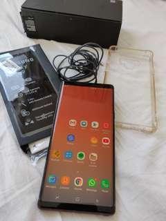 Samsung Note 9 MY set 128GB Metallic Copper 2 months Old