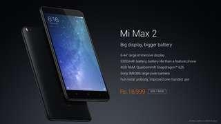 FOR SALE / SWAP Xiaomi Mi Max 2 Completed OFFER!