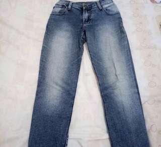Celana dust jeans