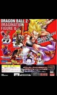 龍珠情景扭蛋第8集Dragonball Z Imagination figure全套特價70元