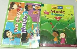 🚚 First Step Music books (P4) and Perfect Match Music books (P3 and P4)
