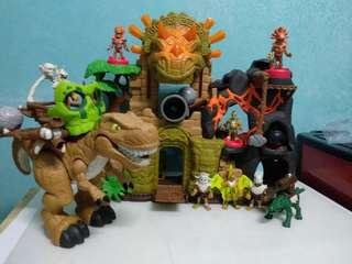 Imaginext Dino Fortress playset - electronic